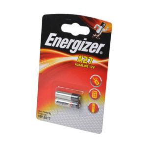 Батарейка Energizer Alkaline 27AE 12V BL2 (20) БЗ000016