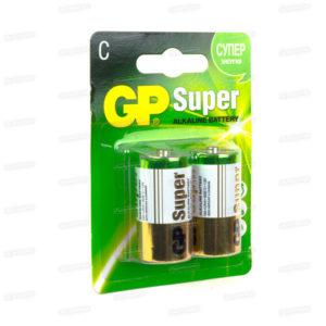 Батарейка GP Super Alkaline LR14/С BL2 (24/288) [GP14A-2CR2] БЗ000242
