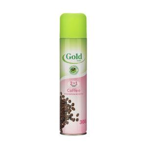 Освежитель воздуха аэрозоль «Gold wind Кофе (Coffee)» 300мл. (1/12) БЗ000312