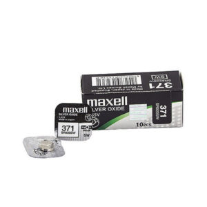Батарейка для часов Maxell Silver Oxide 371/SR920SW 1.55V BL1(10/100) БЗ000340