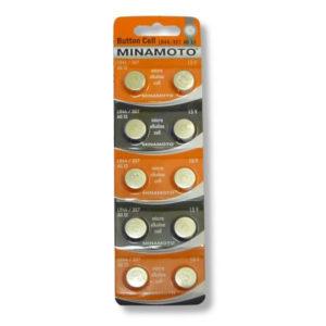 Батарейка для часов Minamoto Alkaline AG4/377/LR626 1.5В BL10 (10/200) БЗ000456