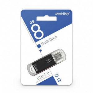 USB 2.0 флеш-накопитель 8Gb Smartbay V-Cut Series черная [SB8GBVC-K] БЗ000822