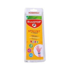 BUGSTOP KIDS Браслет от комаров с 3-х лет 22х1.5см (35/105) БЗ001445