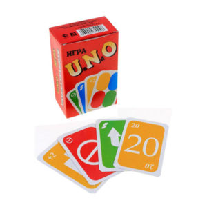 Карточные игра, большая «UaNdO» (Уно) Сортировка арт.1692, 108 карт, 0х0см (1/60) БЗ001692