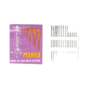 Набор игл для шитья вручную 15шт. Огни Маяка (1/36) БЗ002666