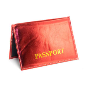 Обложка на паспорт экокожа «Сияние» горизонтальный,пакет,цвет микс (дикий) (1/50/600) БЗ002865