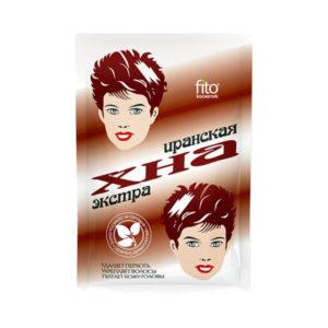 Средство для окраски волос Хна иранская натуральная 25гр.бумажная упаковка,»Фитокосметикс» упаковка коричневого цвета (100) [арт.2001] БЗ003123