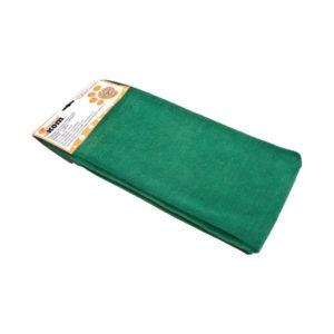 Тряпка для пола микрофибра 70х80см однотонная зелёная «Рыжий Кот» арт.M-02F-XL (5/20) БЗ003438