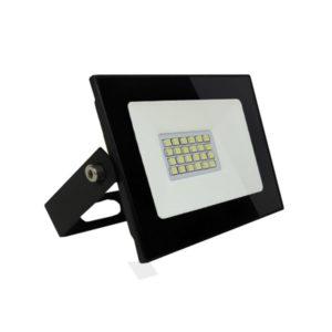 Светодиодный прожектор Smartbay 20W/200Вт, 1600Lm, 6500К, холодный свет, 220В, пылевлагозащита IP65, чёрный SBL-FL-20-65K,180х140х80мм БЗ003865