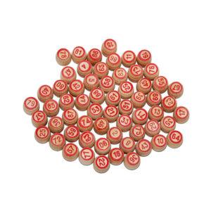 Бочонки деревянные для «Русского Лото» арт.С-196, в мешке 90шт. (1/30) БЗ003880
