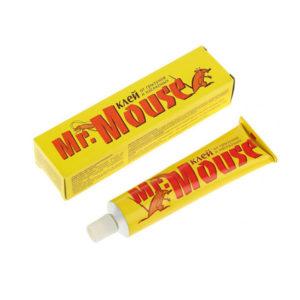 Mr.Mouse Клей от грызунов и насекомых 60гр, арт. MR-6012, металлическая туба, в бумажной коробке (1/25/???) БЗ004070