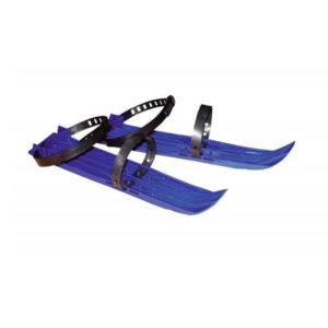 Мини лыжи 33см «Полимер I-30» (детские), пластиковые, с пластиковыми креплениями, цвет микс, 33х7х1см (25) БЗ004242