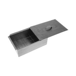 Коптильня для горячего копчения одноярусная «Фиеста», 310x190x115 мм., объем 5,7 л.,лист стальной х/к ст8 пс/кп, в картонной коробке (1) БЗ004720
