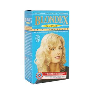Средство для осветления волос «Блондекс Супер» (Blondex Super), средство 1х20гр., крем-окислитель «OXY» 9% 2х25гр.,бальзам 1х15гр., годен до: 02.2022г (1/100) БЗ004841
