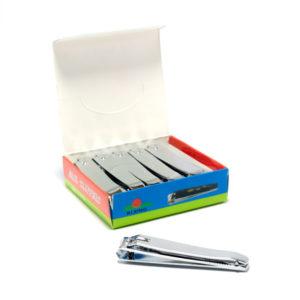 Кусачки-книпсер маникюрные с пилкой 8 см «RI XING» N211-2, Стальные без накладки(12/600) БЗ004897