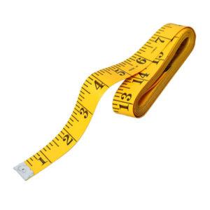 Сантиметровая лента, без футляра 150см «TAILORING TAPE» арт.S-2643, шкала сантиметр, дюйм, цвет микс (12/1440) БЗ005166