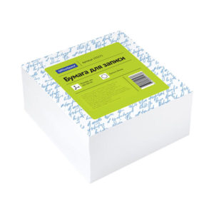 Бумага для записи цвет белый «ArtSpace» 9х9х4,5 см (1/9) БЗ005213