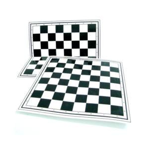Шахматное поле Шашки-Шахматы-Нарды, арт.0024, картон, плотное (1/50) БЗ005273