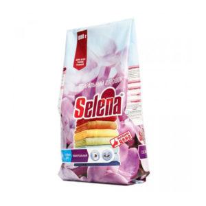 Selena стиральный порошок 1 кг. для всех типов тканей (1/12) БЗ005303
