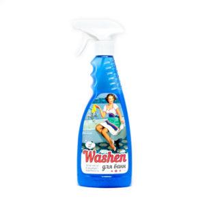 Washen для чистки эмалированных и акриловых ванн, раковин, кранов, душевых кабин, кафеля 500 мл. (1/12) БЗ005313