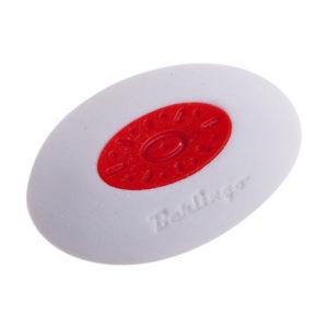 Ластик белый овальный «Berlingo» MEGA SOFT, арт. Blc_00030, пластиковый держатель, в инд. пакете, 50х40х10мм (1/40) БЗ005344