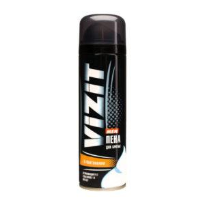 Пена для бритья «VIZIT» с D-Пантенолом, 225 мл., для ухода за чувствительной кожей (1/12) БЗ005477