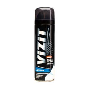 Пена для бритья «VIZIT» с Ментолом, 225 мл., для ухода за чувствительной кожей (1/12) БЗ005478