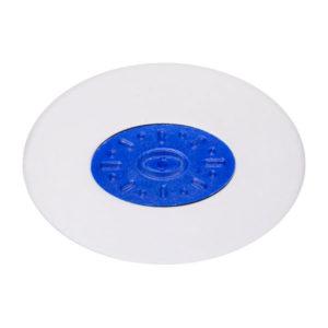 Ластик белый овальный «OfficeSpace» Profi, арт. OBGP_10058, пластиковый держатель, в инд. пакете, 42х30х9мм (1/36) БЗ005505