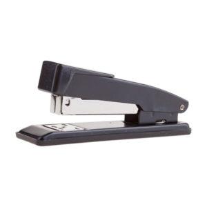 Степлер «OfficeSpace» скоба 24, на 20 листов, металлический корпус, хромированный, черный, арт. St_1868BK(1/6) БЗ005603