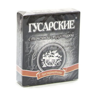 Презервативы «Гусарские» классические (1блок=12упх3шт) цена за блок (50) БЗ005613