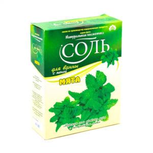 Соль для ванн «Натуральная косметика», Мята, 550 г., в коробке (1/20) БЗ005622