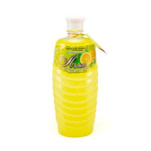 Пена для ванн «Натуральная косметика», Лимон, 1 л. (1/8) БЗ005625
