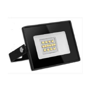 Светодиодный прожектор Smartbay 10W/150Вт, 800Lm, 4100К, холодный свет, 220В, пылевлагозащита IP65, цвет чёрный, SBL-FLSMD-10-41K,113х85х65мм (1/30) БЗ005915