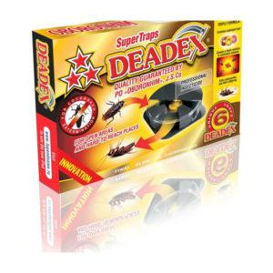 ОБОРОНХИМ Ловушка для уничтожения тараканов Deadex, комплект 6 шт. (1/36) БЗ006020