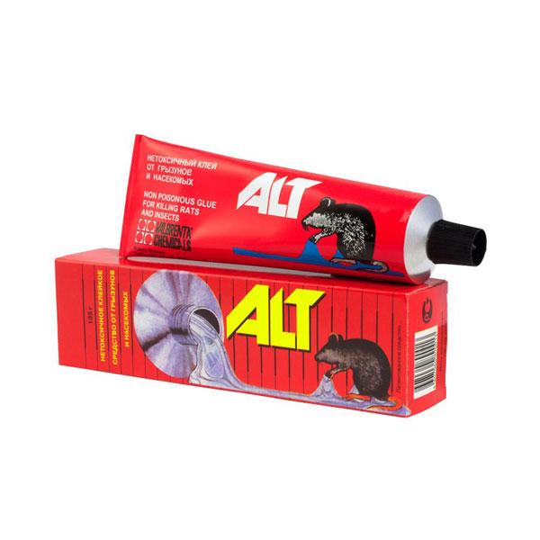 ALT Клей от грызунов и насекомых 135гр, арт.ALT-001, металлическая туба, в бумажной коробке (1/25) БЗ006021