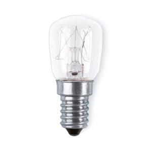 Лампа накаливания общего назначения T25 Калашниково ПШ230-15Вт E14, прозрачная,для холодильников и швейных машин (1/50) БЗ006185