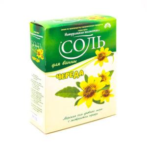 Соль для ванн «Натуральная косметика», Череда, 550 г., в коробке (1/20) БЗ006485
