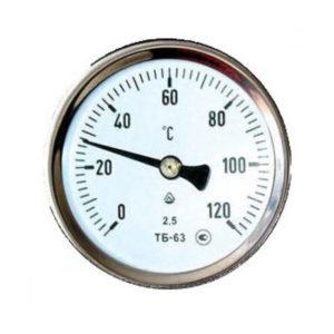 Термометр биметаллический «Для духовки» мод.ТВД, цвет: серебро, круглый, d=6см, +50*С…+200*С, блистер (1/25) БЗ006595