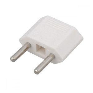 Переходник электрический белый, плоский, 220В, 16А «Тефаль» (1/50) БЗ006600
