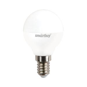 Лампа светодиодная P45 Smartbuy 8.5W/75Вт E14 4000К, холодный свет, матовая колба, 80х45мм (10/50) [SBL-P45-8_5-40K-E14] БЗ006715