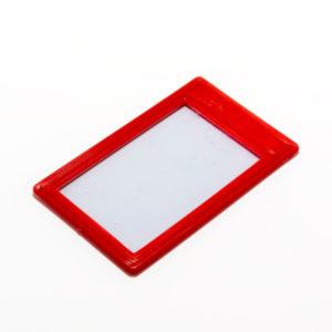 Футляр для проездного билета пластиковая рамка, арт. ОД-О3-16, цвет микс (20/1000) БЗ006860