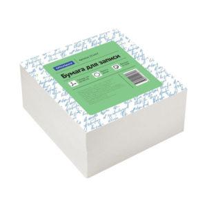 Бумага для записи цвет белый «Office Space» 9х9х4,5 см, белизна 70-80% (1) БЗ007003