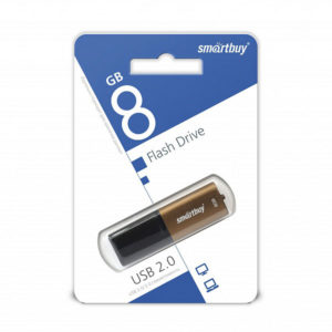 USB 2.0 флеш-накопитель 8Gb Smartbay X-Cut Series коричн. [SB8GBXC-BR] БЗ007027