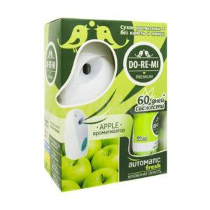 Комплект До-Ре-Ми устройство+освежитель (Зеленое яблоко) (1/4) БЗ007059