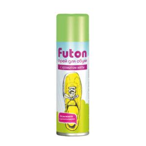 Futon Дезодорант для обуви, с освежающим эффектом мяты, 153мл. (1/24) БЗ007310