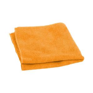 Салфетки для уборки из микрофибры 1шт. 30х30см «Рыжий Кот» M-01, цвет рыжий (40/200) БЗ007323