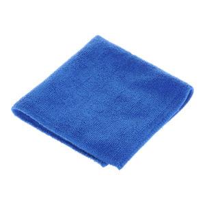 Салфетки для уборки из микрофибры 1шт. 30х30см «Рыжий Кот» M-01, цвет синий (40/200) БЗ007324