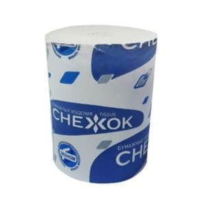 Туалетная бумага без втулки однослойная «Снежок Эконом» 40 метров, 65гр. (50) БЗ007326