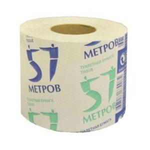 Туалетная бумага без втулки однослойная  «Краснотурьинская»  60 метров, 100гр. (32) БЗ007328