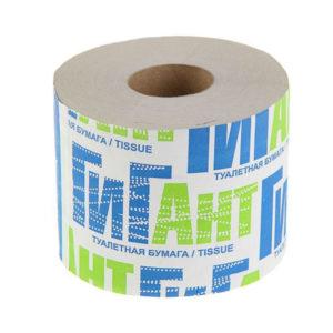 Туалетная бумага со втулкой однослойная «Гигант» 150 метров,190гр (18) БЗ007329